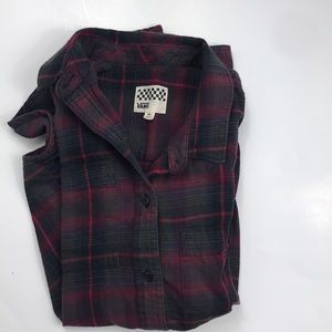 Vans Button Down Shirt